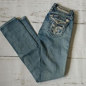 Rock Revival Lily Straight Leg Jeans